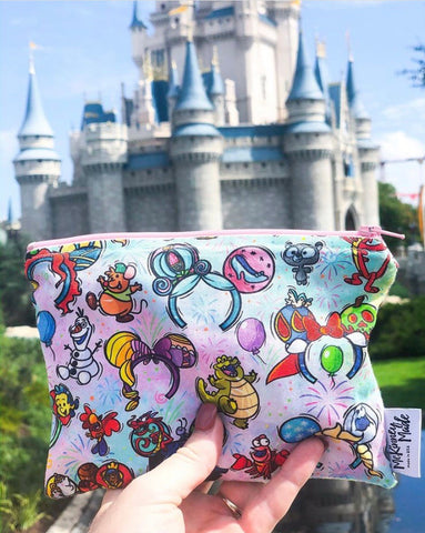 Reusable Snack Bags, Princess Ears