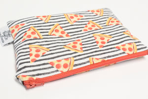Pizza Stripes, Reusable Snack Bags