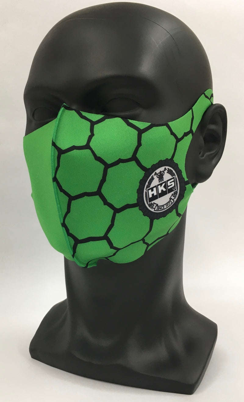 HKS Graphic Mask SPF Green - Large
