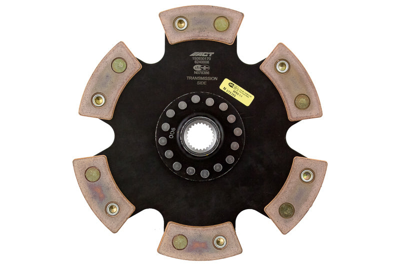 ACT 1981 Nissan 280ZX 6 Pad Rigid Race Disc