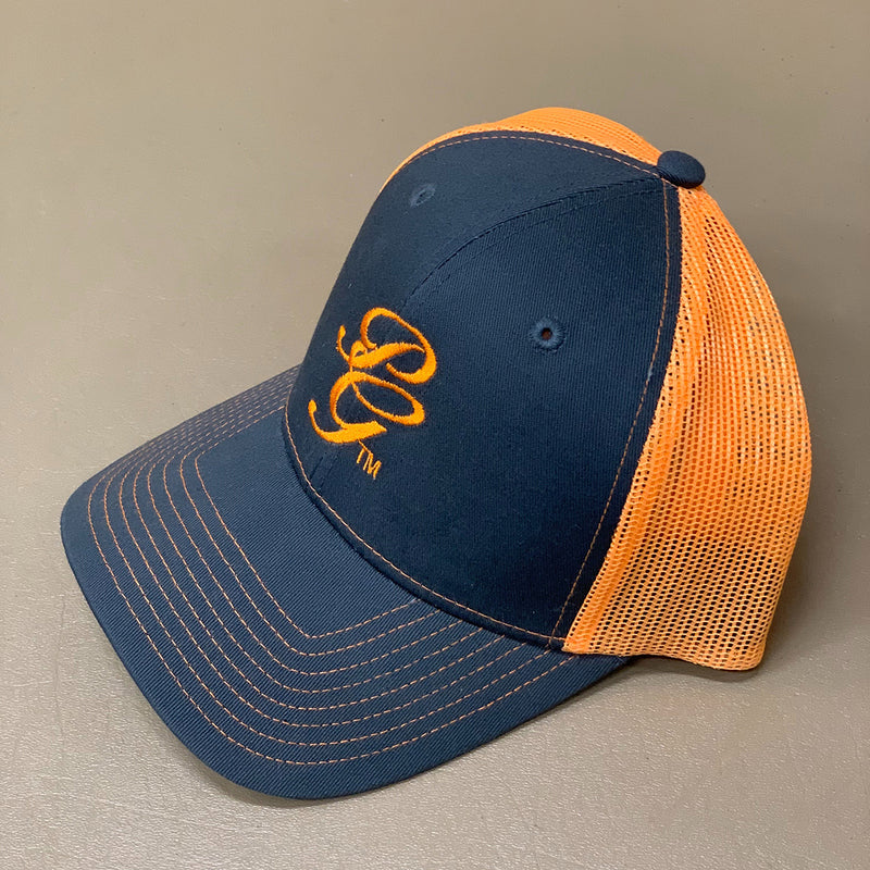 Cap - PoloGear Initials Script - ORANGE