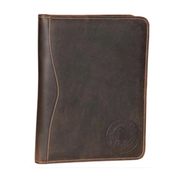 The beautiful and sleek design of the leather folder makes going to meetings a little easier. The PoloGear Cheyenne Meeting Folder has room for a notepad, a folder for important paperwork, a business card holder, and, of course, a grip for your pen.