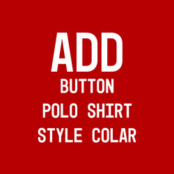 Add Button Polo Shirt Style Collar