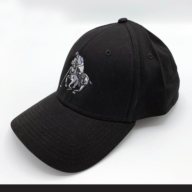 Cap-Black and White Player-Fitted - black - Medium/large