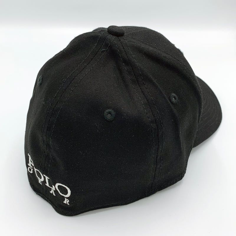 Cap-Black and White Player-Fitted - black - Large/ExtraLarge