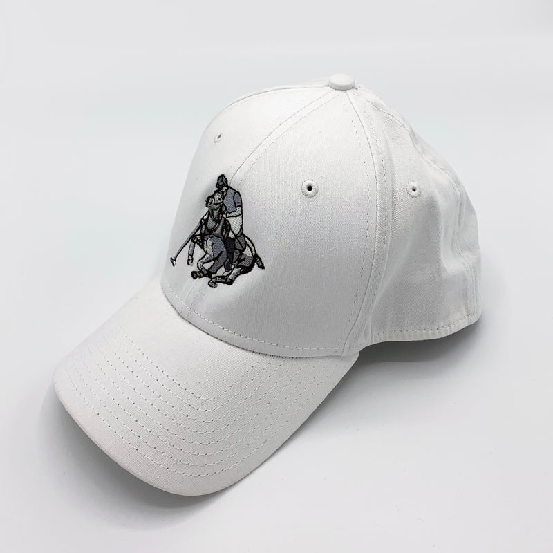 Cap-Black and White Player-Fitted