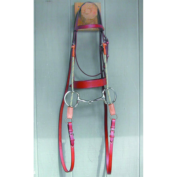 English Bridle Leather - Gag Bridle