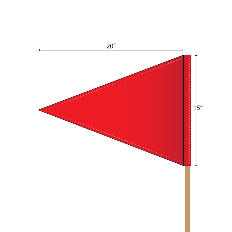 Goal Posts-Polo Top Flag 1 Color