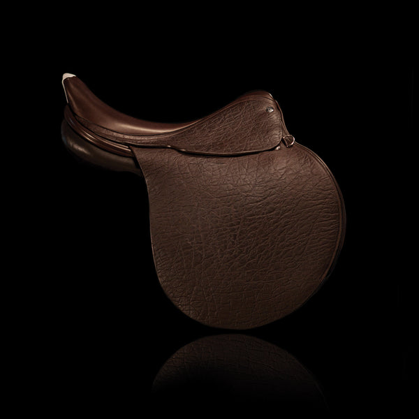 Genuine Polo Leather Free Shoulder Saddle