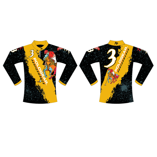 Ladies Team Polo Gear-Sublimated Team Shirt-Long Sleeve