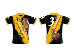 Polo-Ladies Sublimated Polo Shirt Limited Edition Modern Player Design