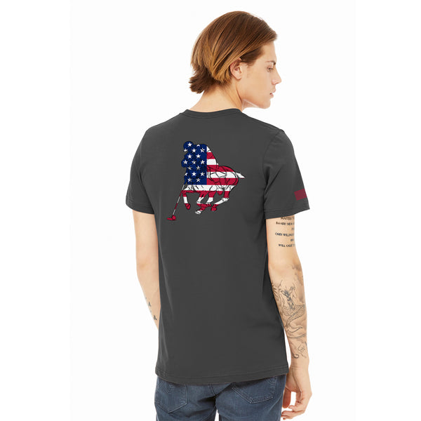 T Shirt-Polo Stars & Stripes