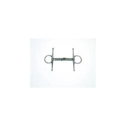 Snaffle-Full Check Copper Double Twisted Wire