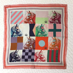 Silk Scarf - Nautical