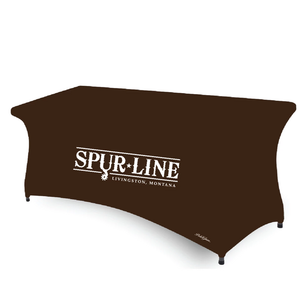 Sublimated Open Back Table Covers  72x30