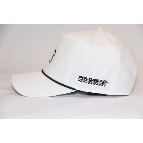 Nic Roldan Baseball Cap - Black/White