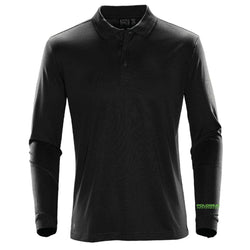 Nic Roldan Pique Long Sleeve Polo