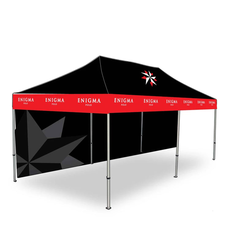 Polo Field Custom Pop-Up Tent Wall