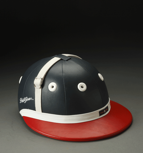 PoloGear Traditional Leather Helmet