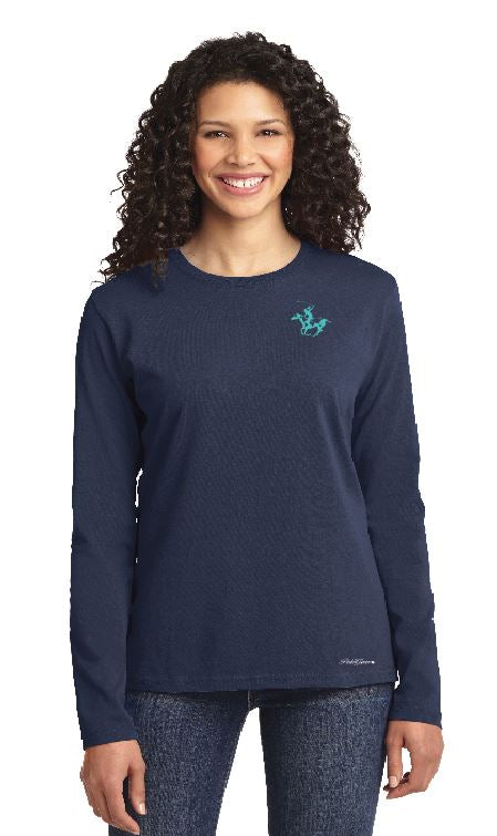 WIPN Ladies L/S Crewneck T Shirt