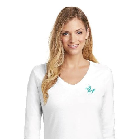 WIPN L/S Ladies V Neck T Shirt