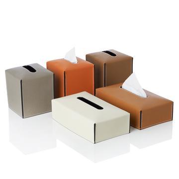 READY TISSUE HOLDER - SQUARE - SKY