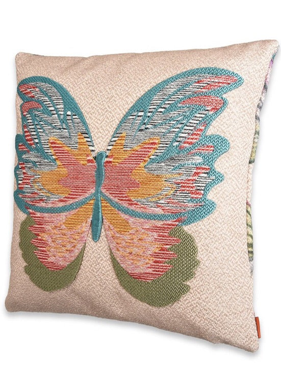 MISSONI - VERMILION CUSHION - BUTTERFLY