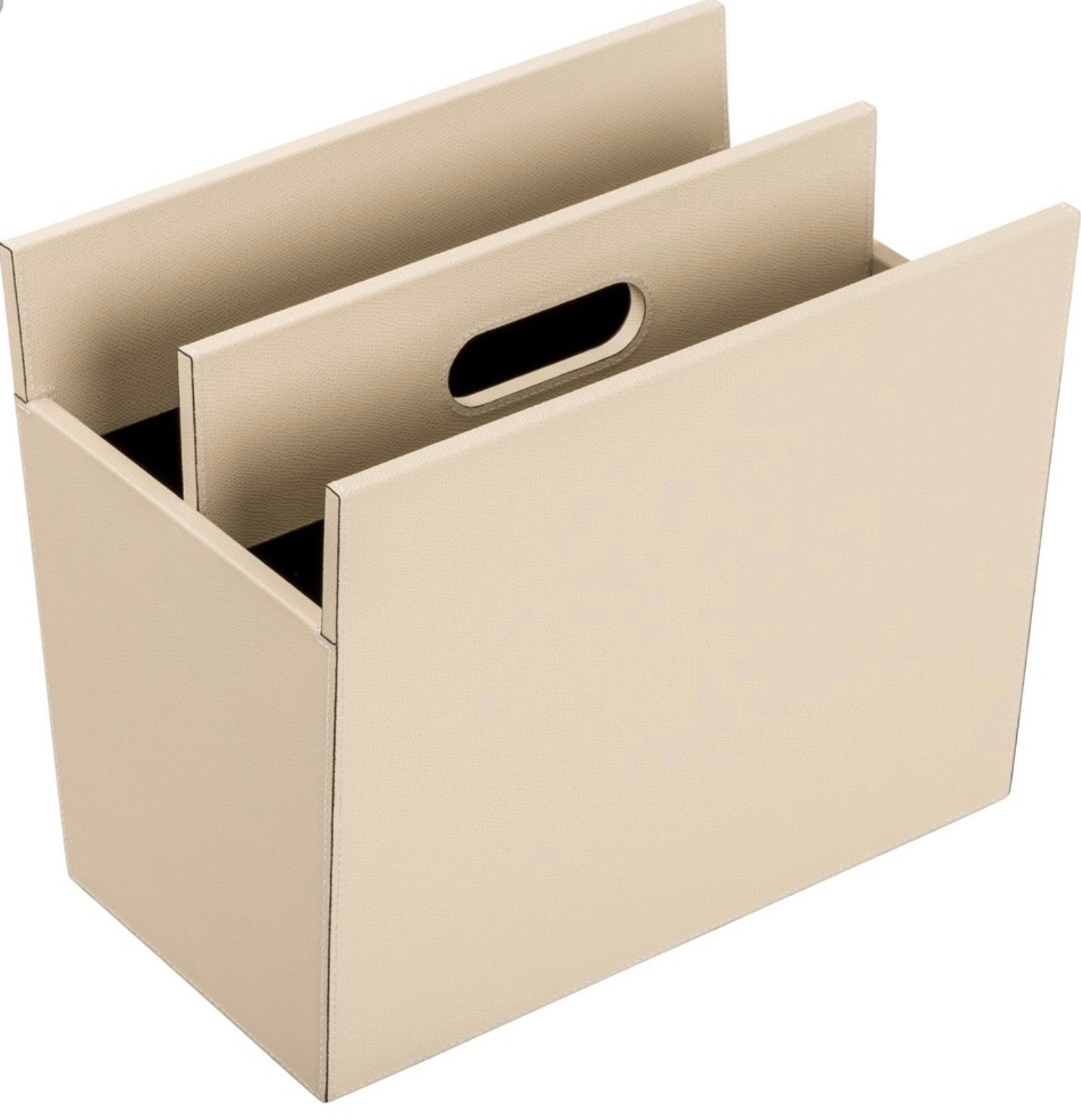 GIOBAGNARA I DAILY MAGAZINE HOLDER I IVORY