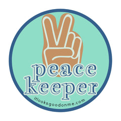 peace keeper printable it looks good on me patch