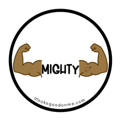 mighty iron on printable patch