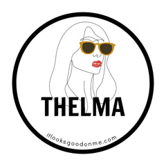 Thelma printable iron on patch from it looks good on me