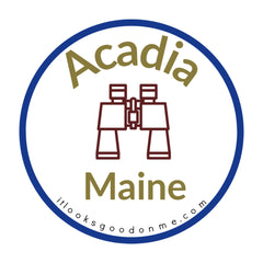 Acadia National Park Maine printable iron on patch