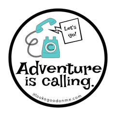 adventure is calling iron on patch from it looks good on me