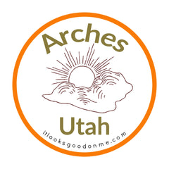 Arches Utah National Park printable iron on patch It Looks Good On Me