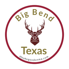Big Bend Texas National Park printable iron on patch It Looks Good On Me
