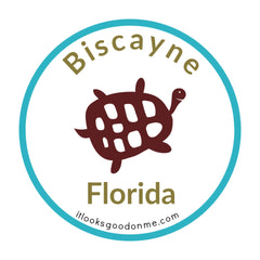 Biscayne Florida National Park printable iron on patch