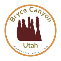 Bryce Canyon Utah National Park printable iron on patch It Looks Good On Me