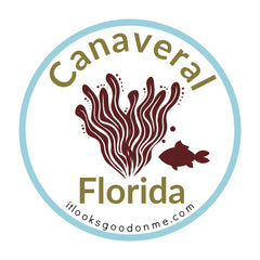 Canaveral Florida national seashore patch from it looks good on me
