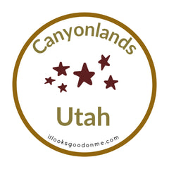 Canyonlands Utah National Park printable iron on patch It Looks Good On Me