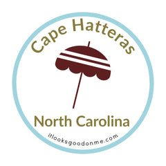 Cape Hatteras North Carolina national seashore patch from it looks good on me