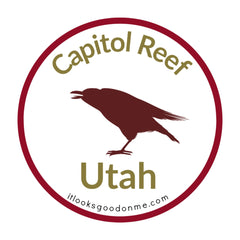 Capitol Reef Utah National Park printable iron on patch It Looks Good On Me