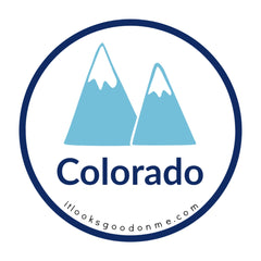Colorado picture iron on patch it looks good on me