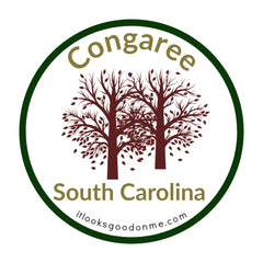 Congaree South Carolina National Park printable iron on patch It Looks Good On Me
