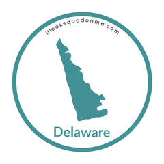 Delaware state outline printable iron on patch it looks good on me