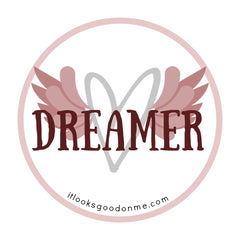 dreamer printable iron on patch from it looks good on me