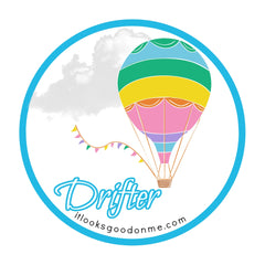 drifter patch printable iron on from it looks good on me