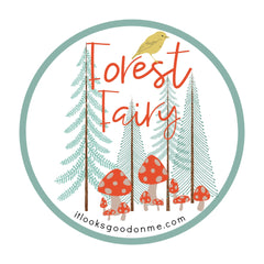 forest fairy printable iron on patch from it looks good on me