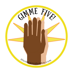 gimmie five just for fun free printable patch