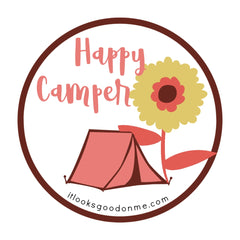 happy camper printable iron on patch from it looks good on me