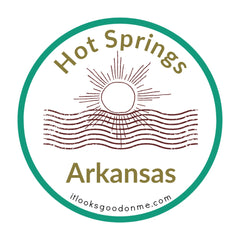 Arkansas Hot Springs National Park printable iron on patch It Looks Good On Me